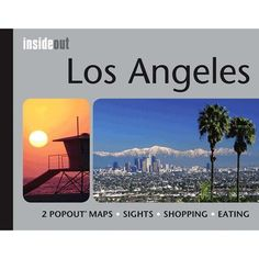 Universal Map Los Angeles California InsideOut Map