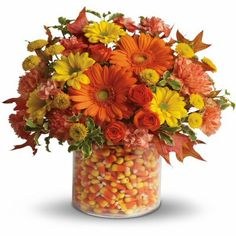 Fall/Halloween arrangement