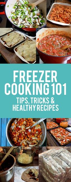 Save time, money and energy by learning how to stockpile food in the freezer with this freezer cooking 101 how-to guide, plus healthy freezer recipes!