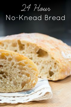 24 Hour No-Knead Bread | easy bread | taking the intimidation out of yeast! Farm & Pretty