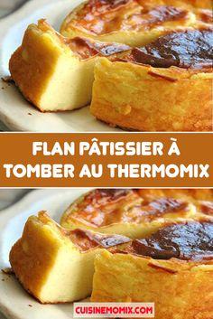Accrocs au flan pâtissier, je suis des vôtres ! Et cette recette de flan au Thermomix devrait vous permettre de réaliser à la maison le flan idéal ! Une texture dense mais fondante, crémeuse sans excès, un parfum de vanille tout en finesse et une pâte croustillante… ; meilleur que dans bien des boulangeries !