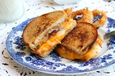 Brown Butter Grilled Cheese Sandwich