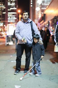 """Humans of New York  """"Before he was born, so much of my life was about moving forward. I was always looking toward the next house, the next car, the next job. Having a child with special needs really made me slow down and examine my definition of success. It also opened my eyes to how many people around me were willing to help."""" ... """"What was your happiest moment?"""" """"After months of coming home from work every day, kissing him on the cheek, and telling him I loved him— one day he said it…"""