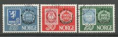 N O R G E - MICHEL nr 393-5 (281) oppføring i Norge,Europa,Frimerker kategorien på eBid Norge