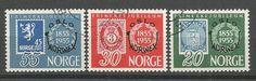 N O R G E - MICHEL nr 393-5 (281) oppføring i Norge,Europa,Frimerker kategorien på eBid Norge Personalized Items, Cards, Postage Stamps, Maps, Playing Cards