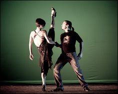Eva Lucero. Argentine Tango. What a high kick!