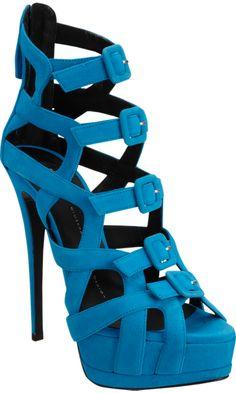 Giuseppe Zanotti Strappy Buckle Front Platform Sandal