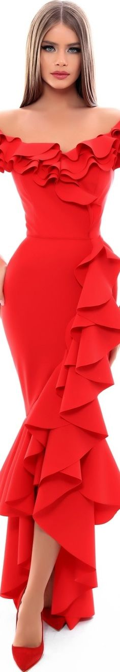 Swans Style is the top online fashion store for women. Shop sexy club dresses, jeans, shoes, bodysuits, skirts and more. Purple Wedding Decorations, Wedding Colors, Wedding Ideas, Red Fashion, African Fashion, Womens Fashion, Lady In Red, Evening Gowns, Beautiful Dresses