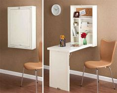 Fold-down table: http://www.buzzfeed.com/katherineiorio/15-of-the-best-space-saving-furniture-designs-yvgw