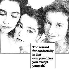 Quote: Rita Mae Brown #regram @gorgeousladiesofwisdom #bjork #pjharvey #toriamos