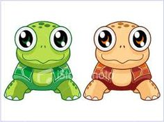 Turtles - Aren't They Adorable With Their Big Eyes?