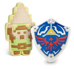Legend of Zelda 8-bit Plushies