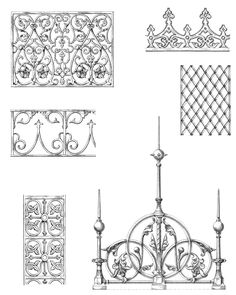 Decorative Ironwork Designs Welcome to Dover Publications