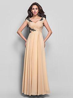 TS Couture® Formal Evening / Prom / Military Ball Dress - White Plus Sizes / Petite Sheath/Column High Neck Floor-length Chiffon 2016 - $69.99