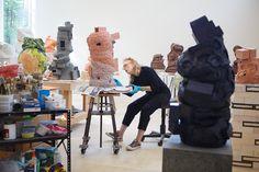 Crafting <i>Slip</i>: In the Studio With Arlene Shechet