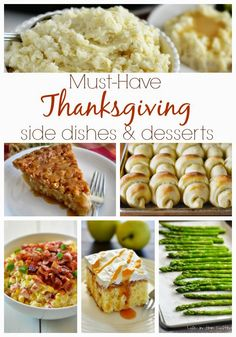 Must-Have Thanksgiving Side Dishes & Desserts