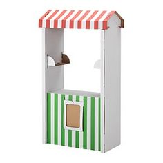 Perfect for different Classroom activities -Jitter Juice stand, kissing booth etc. SKYLTA Children's market stand - IKEA