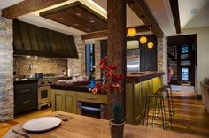 Beaver Creek Contemporary - contemporary - kitchen - denver - 186 Lighting Design Group - Gregg Mackell