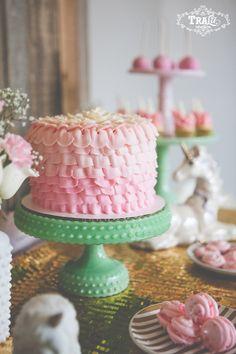 Vintage Unicorn Themed Birthday Party Planning