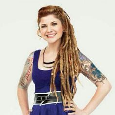 Karly from best ink is so gorgeous it's not fair