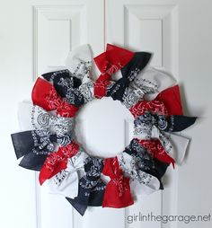 Bandanna Wreath