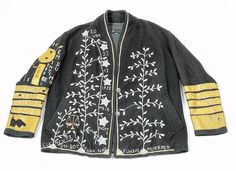 embroidered jacket by Arthur Bispo do Rosario. http://www.rawvision.com/articles/arthur-bispo-do-rosario