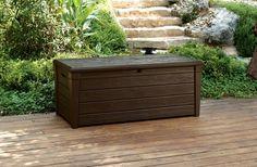 From 99.00 Garden Storage Bench Box Large 454l Keter Resin Furniture Lockable Waterproof