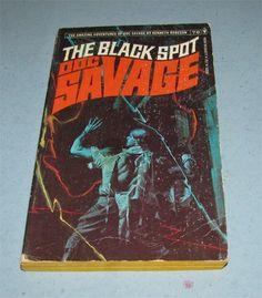 #DocSavage // #76 The Black Spot Kenneth #Robeson // #Bantam 1974