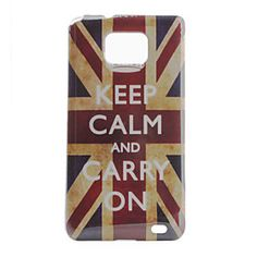 Retro British Flag Hard Case for Samsung Galaxy S2 I9100