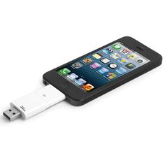 The Only Read And Write iPad Flash Drive. (16 GB) - Hammacher Schlemmer.  So cool! That's such a great idea