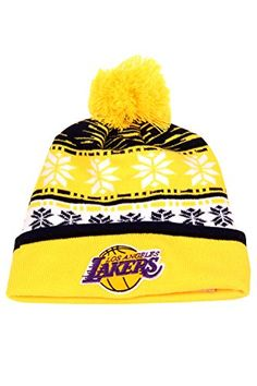 Los Angeles Lakers Hat Fashion Knitted Hat Hip hop Hat Cap - http://weheartlakers.com/lakers-caps/los-angeles-lakers-hat-fashion-knitted-hat-hip-hop-hat-cap