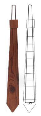 From Reclaimed Wood, Company Creates Neck Ties