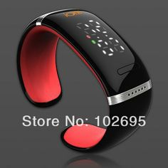 Smart LED Watch Bluetooth 3.0 Bracelet with Call Answer/SMS Reminding/Music Player/Anti-lost for iPhone/Samsung/HTC + More - L12 US $48.90