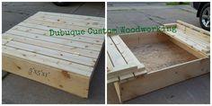 Convertible Sandboxes Sandbox, Custom Woodworking, Convertible, Home Decor, Litter Box, Infinity Dress, Decoration Home, Room Decor, Sand Pit
