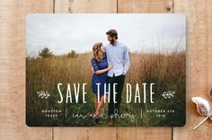 Modern Save The Dates, Save The Date Photos, Wedding Save The Dates, Save The Date Cards, Save The Date Invitations, Wedding Invitation Cards, Wedding Cards, Invites, Invitation Ideas