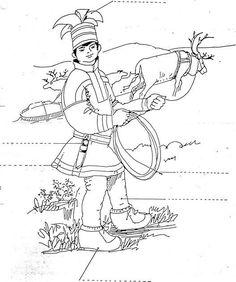 Kuvahaun tulos haulle reinsdyr same lasso Frugal Christmas, Christmas Crafts, Reindeer Craft, Folk Clothing, Camping Crafts, Cabo San Lucas, Craft Stick Crafts, Paper Dolls, Kids Playing
