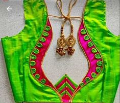 Chudithar Neck Designs, Latest Blouse Neck Designs, Simple Blouse Designs, Stylish Blouse Design, Bridal Blouse Designs, Vanki Designs Jewellery, Traditional Blouse Designs, Blouse Desings, Patch Work Blouse Designs