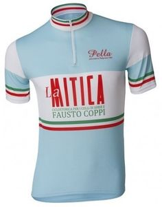 La Mitica retro cycling jersey