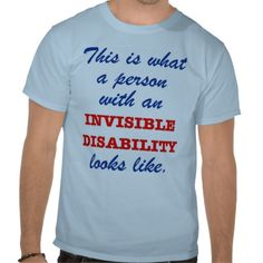 What does invisible disability look like?