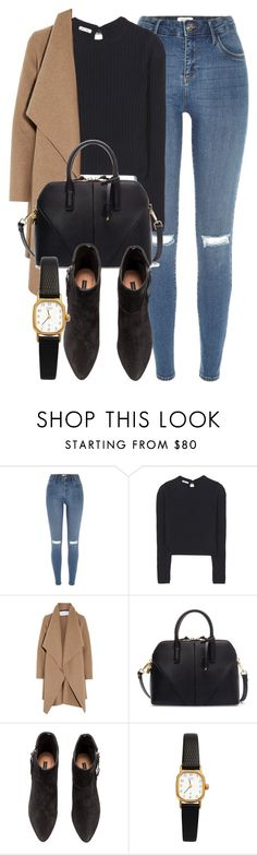 """Untitled #5484"" by laurenmboot ❤ liked on Polyvore featuring River Island, Miu Miu, Harris Wharf London, Zara, H&M and American Apparel"