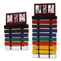 Wall Mounted Photo Frame Belt Display Martial Arts Gifts Picture belts | eBay