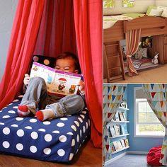 Reading room for boys