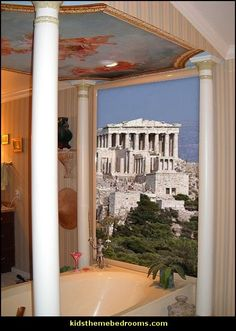 THERE IT IS!!!  Acropolis in Greece wall mural