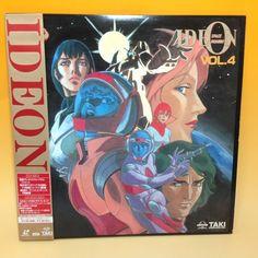 Space Runaway Ideon / Densetsu Kyojin Ideon (TV) vol.4 LaserDisc LD Japan AA245
