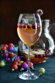 Cranberry Pear Sangr