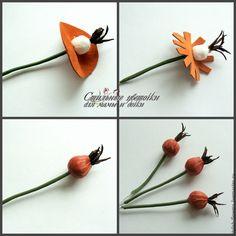 """Создаем ободок из кожи """"Дикая роза"""" - Ярмарка Мастеров - ручная работа, handmade"""