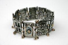 metal clay door bracelet...i love this