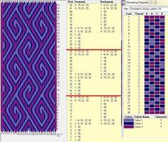 Diseño 30 tarjetas, 3 colores, repite dibujo cada 14 movimientos