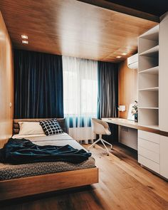 Modern Bedroom Ideas - Seeking the best bedroom decor ideas? Utilize these gorgeous modern bedroom ideas as motivation for your own wonderful designing plan . Small Room Bedroom, Home Decor Bedroom, Bedroom Ideas, Design Bedroom, Bedroom Themes, Cozy Bedroom, Master Bedrooms, Small Bedroom Interior, Small Bedroom Designs
