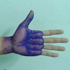 Ballpoint Pen Hand Art